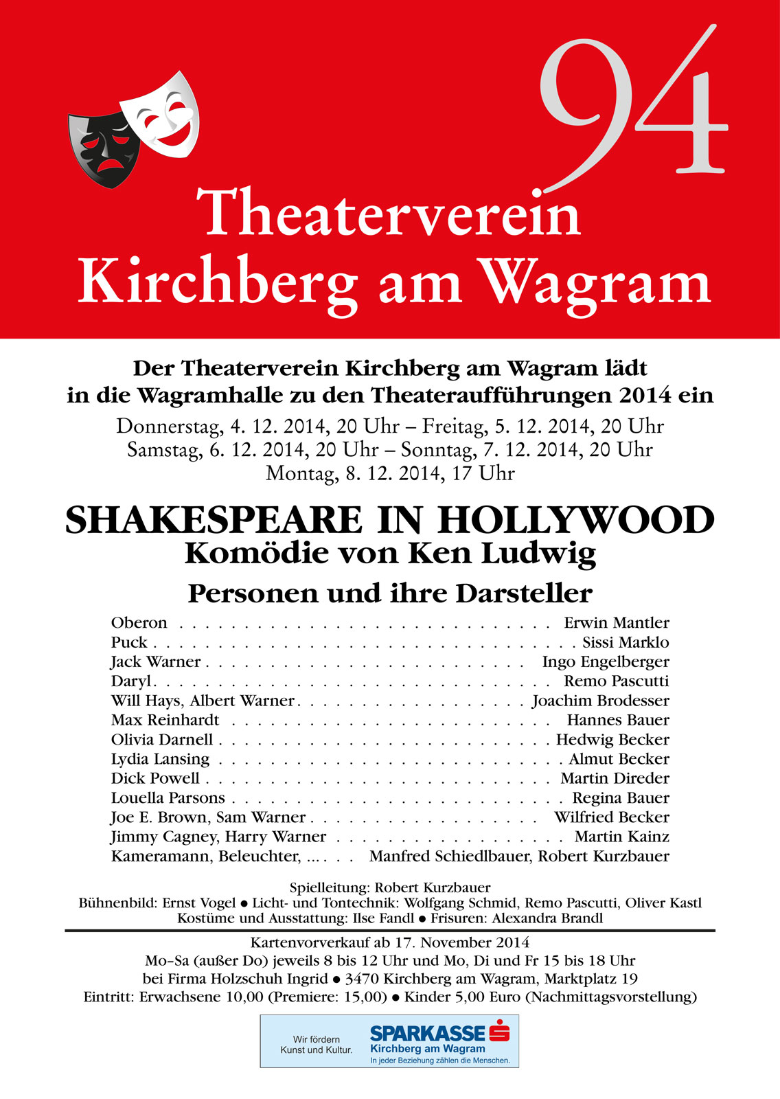2014 Shakespeare in Hollywood