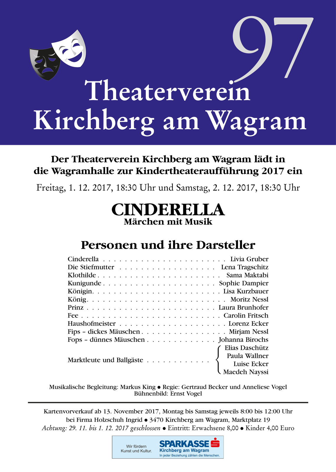2017 Kindertheater Cinderella